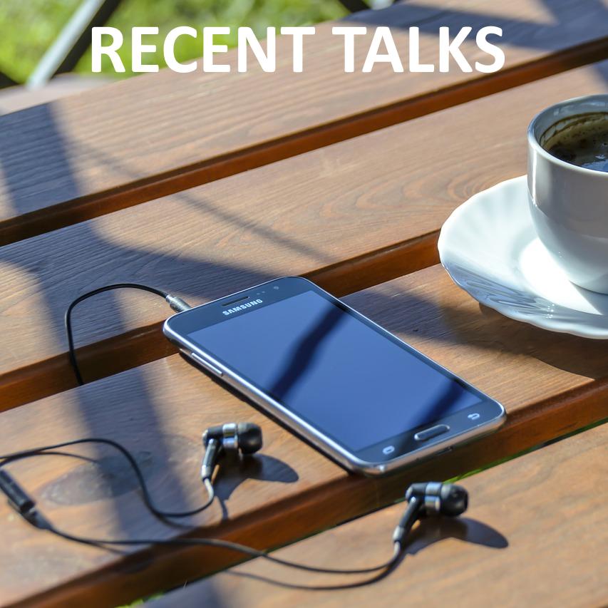 Recent Talks